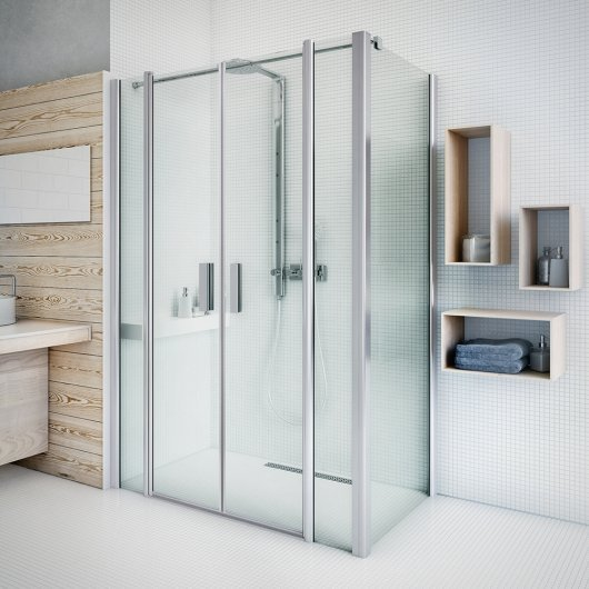 TDN2 shower door and UB side wall