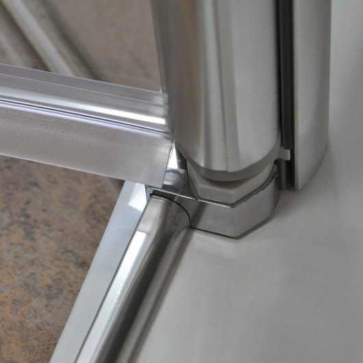 Threshold seal and aluminum profile Brillant